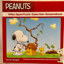 Peanuts HOME REPAIRS Snoopy & Woodstock 100 Pc Puzzle NEW Sealed Puzzle #01325