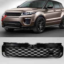 1pcs Black ABS Chromed Front Grille Top Grille for Range Rover Evoque 2012-2017