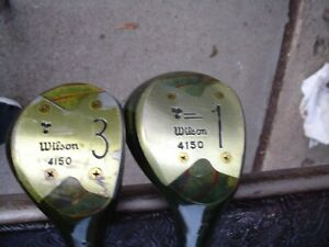 Wilson Sally Little One Hundred RH Driver and 3-Wood Golf Club Set