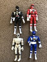 Mighty Morphin Power Rangers 1994 Bandai 8 Inch Action Figures Lot Of 4