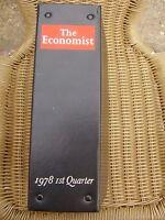 THE ECONOMIST BOUND VOLUME 1978 1ST QUARTER BINDER & 12 ISSUES FREE UK POST