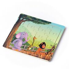 20pc Colorful Animals Puzzle Jigsaw Toddler Kids Early Learning Toys Educational