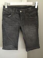Tsubi Ksubi Short Jeans With Back Details Grey Size 8 Sold Out