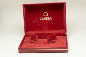 Omega Vintage Red Inner Wristwatch Box 1970 / 1980's