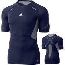 Adidas Techfit Kompression Shirt Herren Laufshirt Funktionsshirt Unterziehshirt