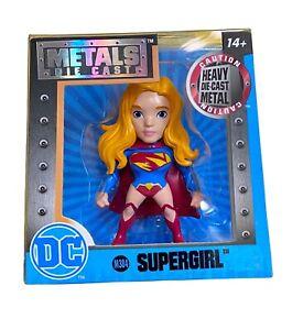 "Jada Toys Metals Die Cast SUPERGIRL 2.5"" Figure M384 DC Comics New In Box"