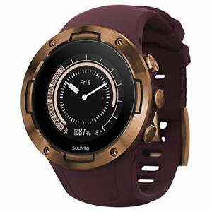 Suunto 5 Lightweight GPS Sports Watch Burgundy/Copper