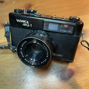Classic Yashica MG-1 Camera For Parts Not Working
