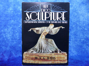 ART DECO SCULPTURE by Victor Arwas - Chryselephantine Statuettes 20s/30s HB BOOK