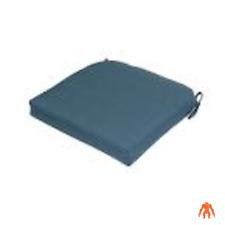 CushionGuard Chili Square Outdoor Seat Cushion by Hampton Bay- blue