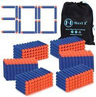 Blaster Darts, NextX 300 Pack Refill Bullets for Nerf N-Strike Elite, Toys Foam