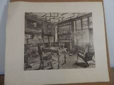 Lithograph Vintage Architecture Art Prints