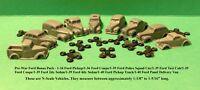 """RICO'S """"PRE-WAR FORD BONUS PACK"""" - 9 VEHICLES - N SCALE - RRR/FNS"""