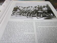 Motorrad Archiv Prominenz 4103 Wiener Rennfahrer Runde Kurt v. Nadherny