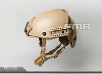 FMA Tactical Airsoft CP Air Frame Helmet DE TAN - TB310 M/L