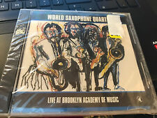 World Saxophone Quartet Live At Brooklyn Academy cd SS