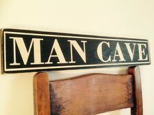 Man Cave Decorative Signs : Wooden man cave decorative outdoor signs plaques ebay