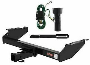Curt Class 3 Trailer Hitch & Wiring for 1980-1986 Ford Bronco/F-150/F-250/F-350