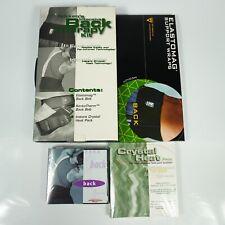 NIKKEN Elastomag KenkoTherm Back Belt & Insant Crystal Ice Pack MED EQL-FIR 4013
