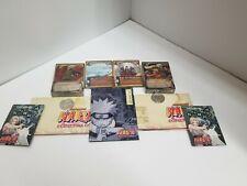 Naruto Uzumaki & Jiraiya & Kakashi Hatake Super RARE Gold Foil Decks SEALED