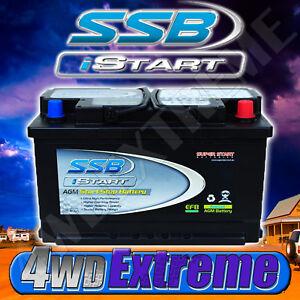 SSB STOP START AGM SS75TI LEAK PROOF BATTERY 12 VOLT EUROPEAN MERCEDES BMW AUDI