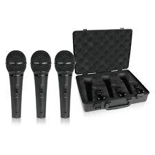 Behringer Ultravoice XM1800S Handheld Supercardioid Dynamic Mics - Set of 3