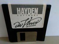"ITHistory (1984) Apple Software: DAVINCI INTERIORS (Hayden) 3.5""  (No Manual"