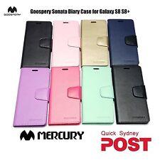 Mercury Goospery Sonata Wallet Cover Case Samsung Galaxy S8+ Plus iPhone 8+ X