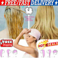 US Magic Hair Drying Towel Hat Cap Microfibre Quick Dry Turban For Bath Shower q
