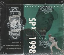 1998 Upper Deck SPX Finite Baseball Series 2 Sealed Box
