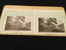 Vintage Stereoscopic Slide - Rochdale Education Committee - Midge Hall Valley