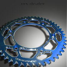 gp-tech FABRIQUE pignon roue à chaîne Bleu 50Z Kawasaki KX KXF KX-F 125 250 450