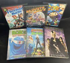 Children's DVD Lot ~ Igor, Hogfather, Muppets, Flushed Away, Monsters Vs. Aliens