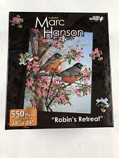 The Art Of Marc Hanson 500 Piece Puzzle Robin's Retreat New