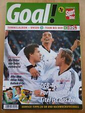 Ferrero GOAL! EM 2004 Album - Sport Bild - duplo hanuta - 11 Fehlbilder -DFB (3)
