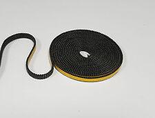 Dichtschnur Dichtband 8 x 2 mm selbsklebend Ofendichtung 0,25 m schwarz 1a Qual.