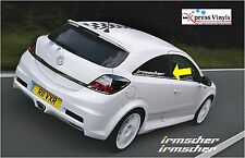 Irmscher side window sticker decals x 2 Opel,Vauxhall, VXR,GTE,GSi ASTRA VECTRA