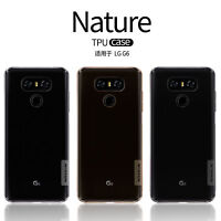 Nillkin Flexible Transparent Brown Clear Soft TPU Cover Slim Case For LG G6