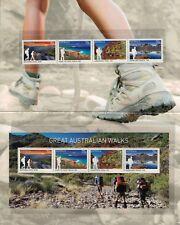 2015 AUSTRALIA Great Australian Walks STAMP PACK