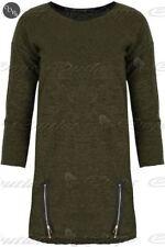Markenlose S Damen-Pullover & -Strickware mit Reißverschluss
