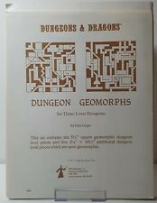 Advanced Dungeons & Dragons - Dungeon Geomorphs Set Two & Three