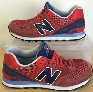 mens new balance NB 574 Trainers size UK 8.5 EU 42.5 good condition