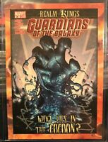 Dan Abnett Andy Lanning Dual Auto Cover 24 Card 2014 GUARDIANS OF THE GALAXY B14