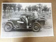 """Texas berry pickers Model A roadster pick up 12 By 18"""" Black & White Picture"""