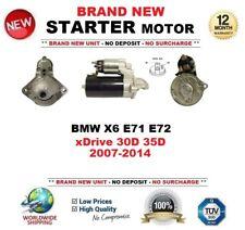 FOR BMW X6 E71 E72 xDrive 30D 35D 2007-2014 BRAND NEW STARTER MOTOR 1.8kW 9Teeth
