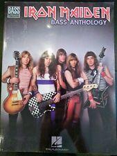 Iron Maiden Bass Anthology - Bass Guitar Tablature, New old stock
