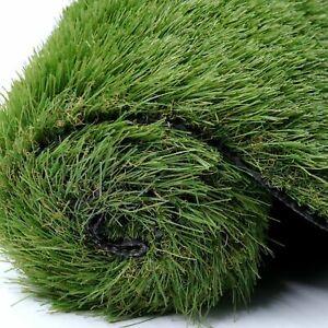 Artificial Grass Astro Turf Fake Lawn Realistic Natural Green Garden Mat