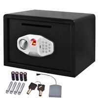 "14"" Biometric Fingerprint Digital Electronic Safe Drop Box Document Slot Keys"