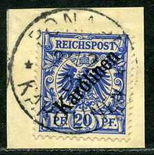 Karolinen Mi 4 I  Kab.-Briefstück  Ponape  160,-