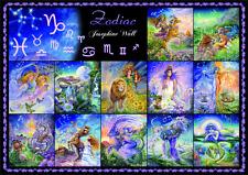 """Jigsaw Puzzles 1000 Pieces """"Zodiac""""/ Josephine Wall / Grafika"""
